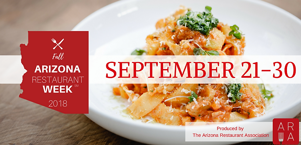 Arizona Restaurant Week | September 21st-30th