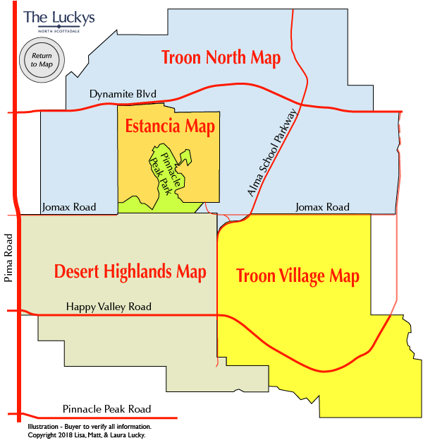 Reata Troon Area Map