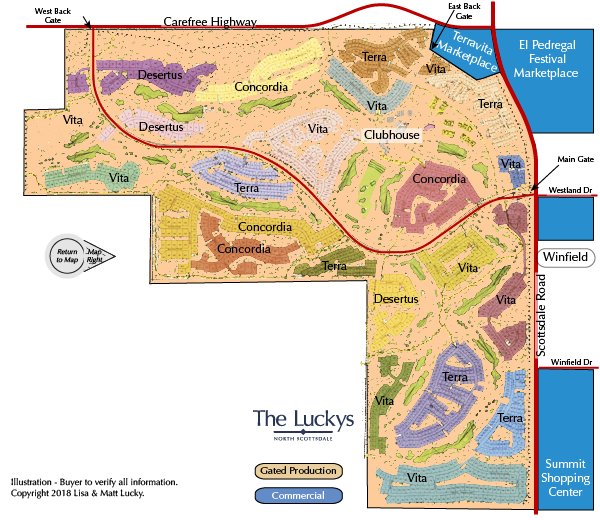 Terravita Map