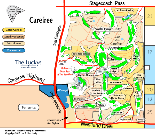 The Boulders Map