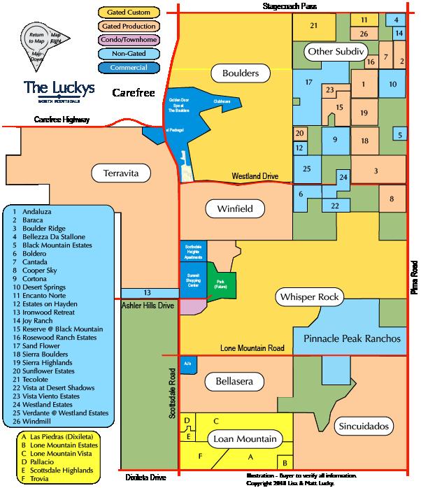 Boulders Area Map