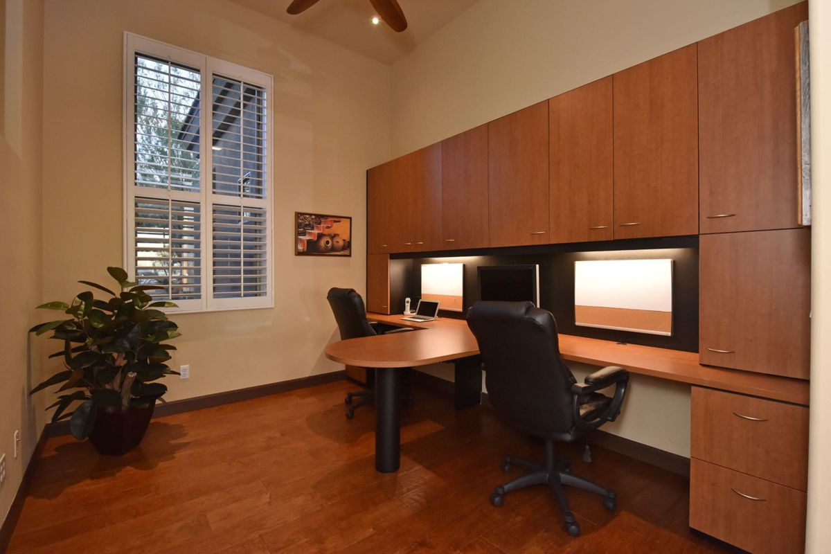 Office with Dual Desks
