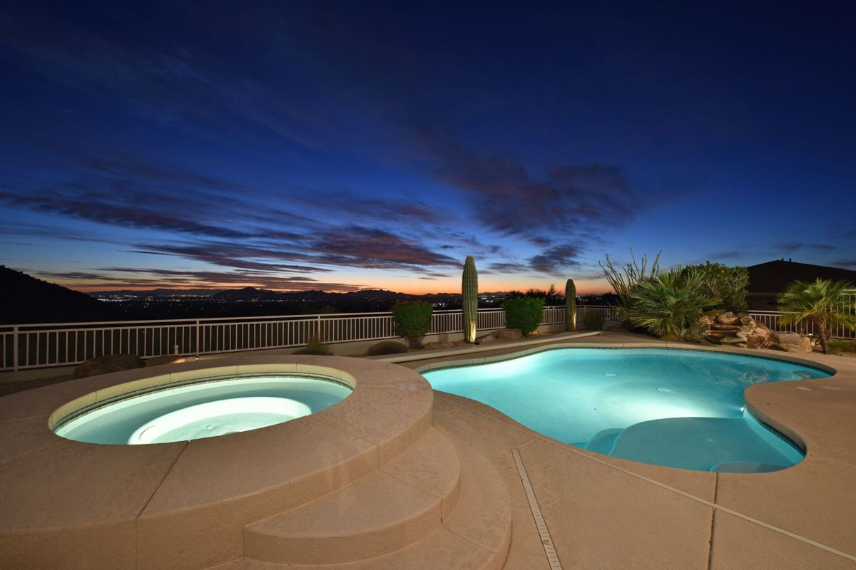 Pool and Spa with Views