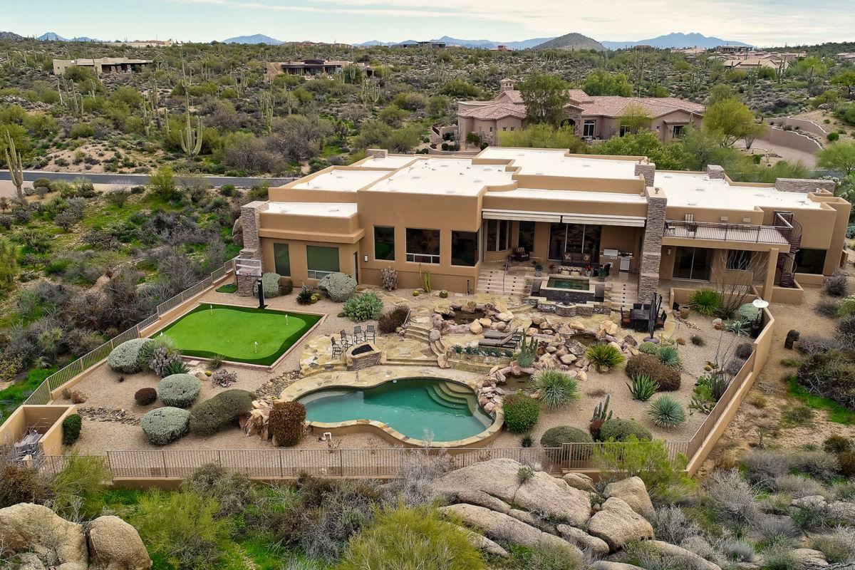 North Scottsdale Real Estate Boulder Crest At Troon North