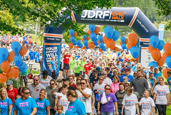JDRF One Walk | April 6th, 2019