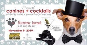 Canines + Cocktails | November 9, 2019